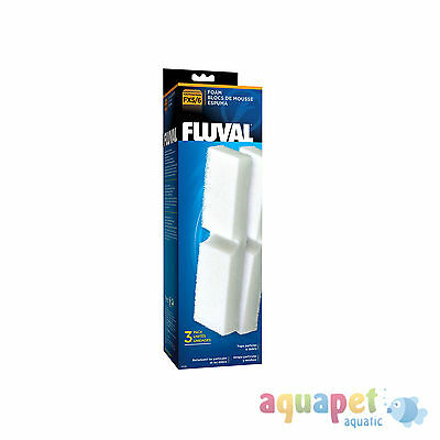 Fluval FX5 Filter Foam, 3 Pack for FX5 External Filter