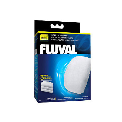 Fluval Polishing Pad for 104/105/106 AND 204/205/206 External Filters, 3 pieces