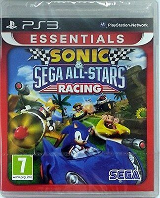 Sonic & SEGA All-Stars Racing - Essentials (PS3) [NEW GAME]