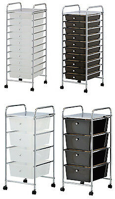 Portable Storage Drawer Trolley Kitchen Bedroom Kids Toys Clothes Wheels