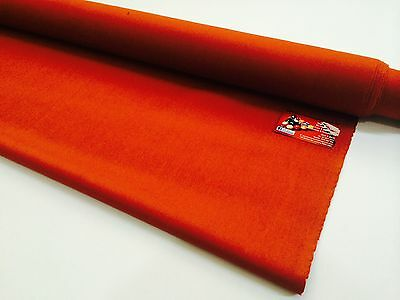 ENGLISH Hainsworth Pool Snooker Billiard Table Cloth Felt full kit 8ft PAPRIKA