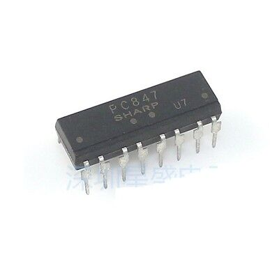 10PCS PC847 DIP-16 High Density Photocoupler NEW
