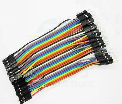 40pcs Dupont 10CM Male To Female Jumper Wire Ribbon Cable for Arduino