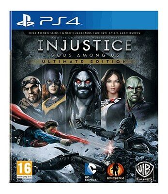 Injustice: God Amongst Us - Ultimate Edition (PS4) [NEW GAME]