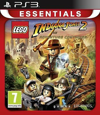 LEGO Indiana Jones 2: The Adventure Continues (PS3) [NEW GAME]