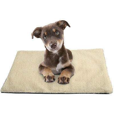 Amazing Magic Self Heating Thermal Dog Cat Puppy Animal Pet Warm Washable Rug