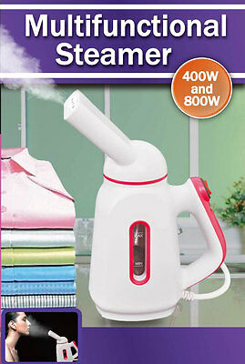 Portable Steamer Iron Face Spa Steam Clothes Shirt Suit Curtains Humidify Travel