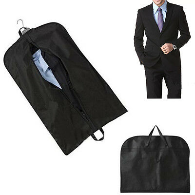 Coat Clothes Garment Suit Cover Bags Dustproof Hanger Storage Protector Portable