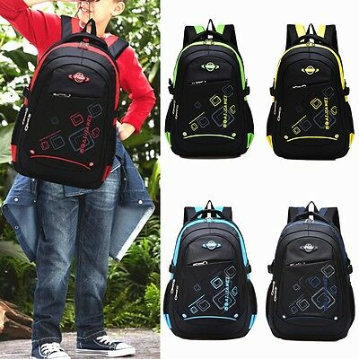 Waterproof Kids Children Boys Girls School Bag Backpack Sport Travel Rucksack