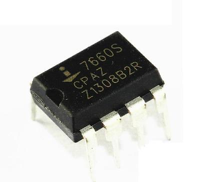 5PCS ICL7660SCPA ICL7660 DIP-8 Super Voltage Converter NEW IC GOOD QUALITY
