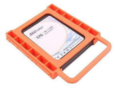 "2.5"" to 3.5"" SSD to HDD Screw-less Mounting Adapter Bracket Hard Drive Holder *"