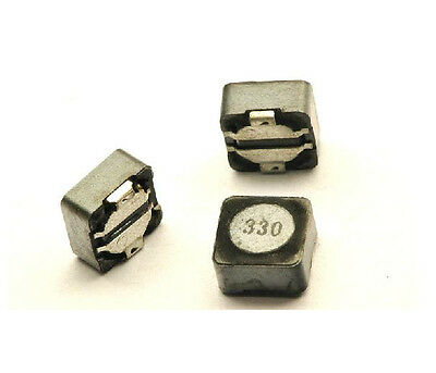 5 PCS DS1207-330M 33uH Shielded SMD Power Inductors
