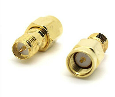 "SMA Male to RP-TNC Female Adapter Connector RF Coaxial Pigtail Cable 13/""M4U7 2X"