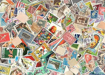 +1000 DIFFERENT (90 grams) WORLD STAMPS MANY LATIN AMERICA EXCELLENT LOT