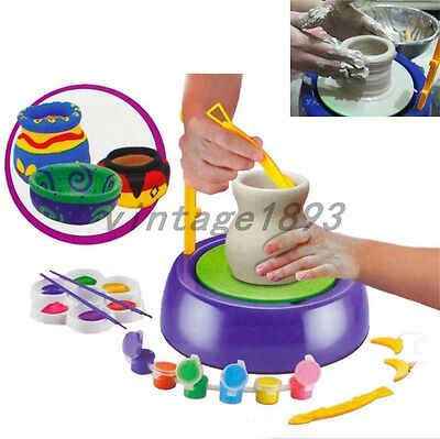 NEW Discovery Kids Motorized Pottery Wheel Without Clay