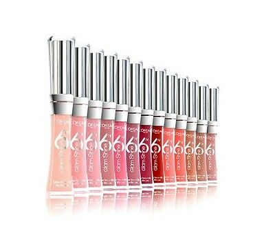 L'oreal Glam Shine 6H Lip Gloss * Choose Your Colour *