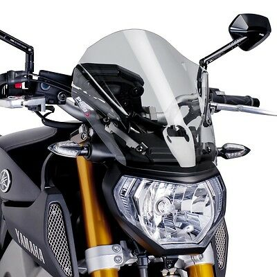 Windscreen Puig Tour Yamaha MT-09 13-15 light smoke fly screen cockpit