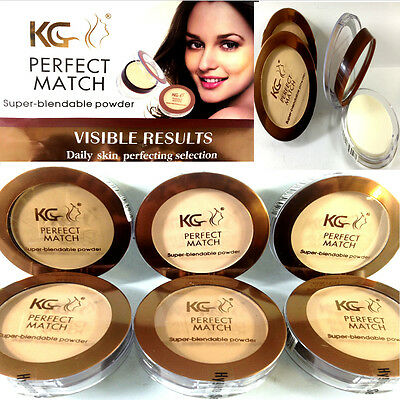 Super-Blendable Pressed Powder Foundation Perfect Match By Krazy Girl *choose*