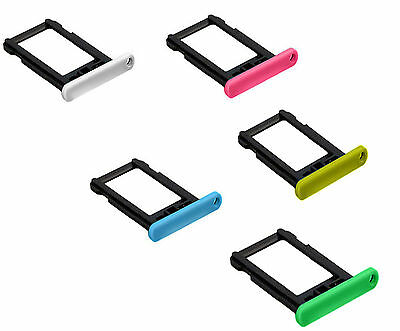 iphone 5c Nano Sim Card Tray Slot Socket Cover Holder Replacement Part UK