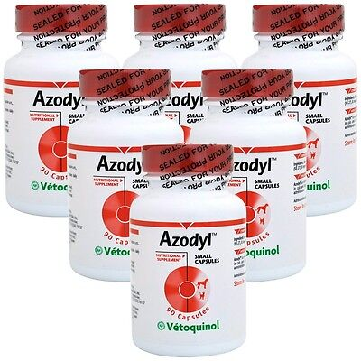 6PACK Azodyl Small Caps 540 count