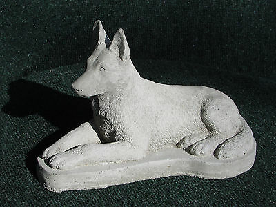 Concrete German Shepherd Dog Statue/ Monument