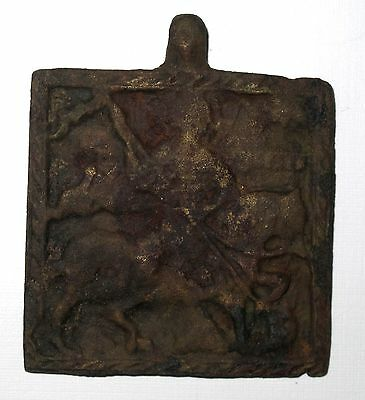 VERY RARE 15th c. RUSSIAN ORTHODOX ICON