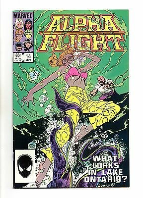 Alpha Flight Vol 1 No 14 Sep 1984 (VFN) Modern Age (1980-Now)