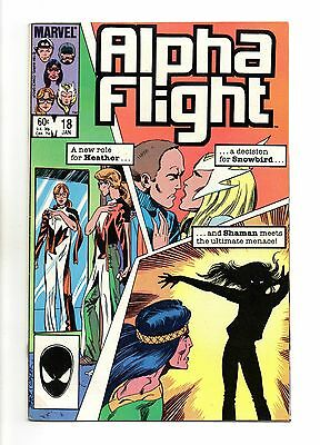 Alpha Flight Vol 1 No 18 Jan 1985 (VFN) Modern Age (1980-Now)