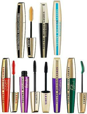 Loreal Mascara Volume Mega Milllion Manga Lashes Telescopic *choose*