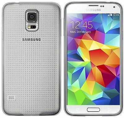 New Clear Tpu Hydro Gel Case Cover Skin + Film For Samsung Galaxy S5 2014
