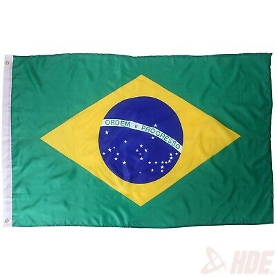 Brazil Auriverde Brazilian Flag Country Banner Outdoor Patio Football