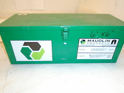 "Mauldin Products 6""X6"" Slotted Shims (104Pcs) Size .001-.125; 8Pcs Each"