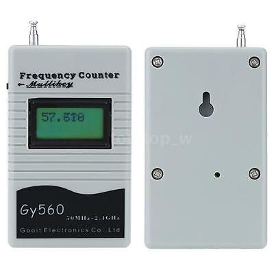 GY560 50MHz-2.4GHz Mini Frequency Counter Meter Tester for Digital Signal 3VS2