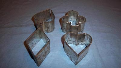 Vintage Bridge/Playing Cards Cookie/Sandwich Cutters