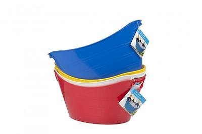 Flexible Plastic Ice Utility Bucket Cooler for Wine Beer Champagne Party BBQ