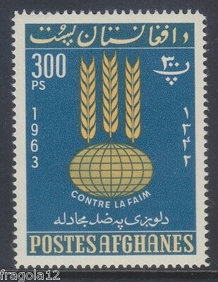 Afghanistan 1963 - Campagna Contro La Fame - P. 300 - Mnh