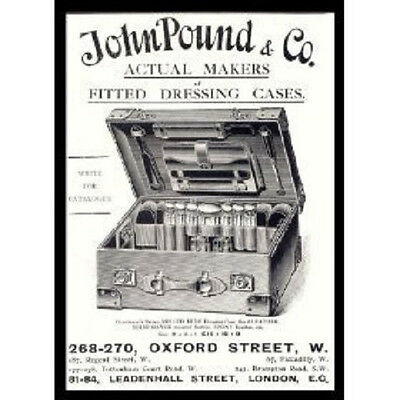 John Pound Oxford Street Dress Makers Metal Sign Plaque
