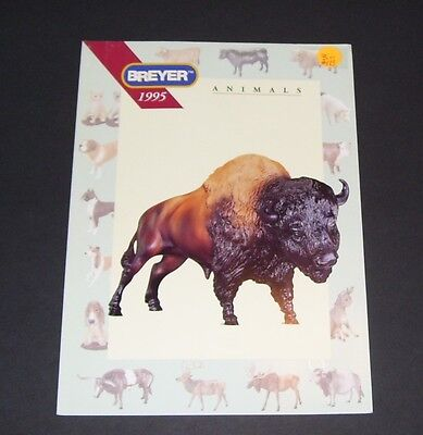 Reeves International Breyer Animals Toy Catalogue Leaflet 1995