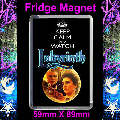 Cult TV 45x45mm Keyring The Firey Labyrinth
