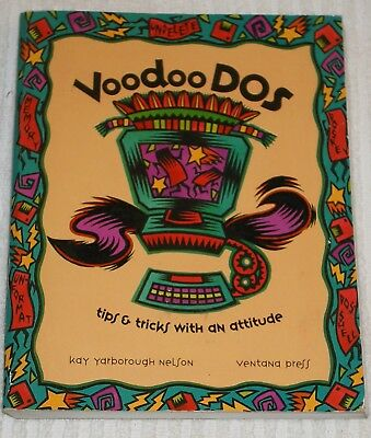 Computer Book  *** Voodoo Dos *** For The Pc - New