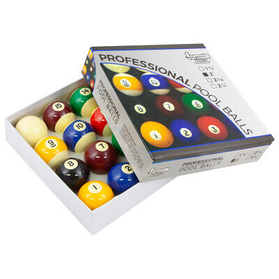 NEW Pool Snooker Billiards Accessories Starter Kit Balls Chalk Tips Holder Rack