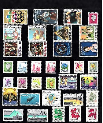 CANADA Stamp Collection MODERNISH Issues USED few MINT REF:QA706