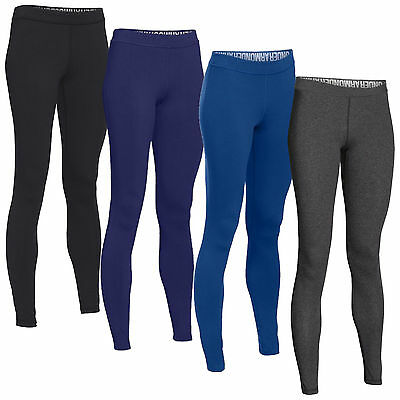 Under Armour Womens Favourite Wordmark Leggings - New Thermal Base Layer Bottoms