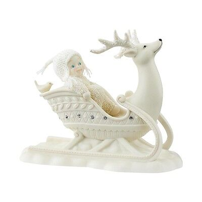 SNOWBABIES Regal Ride Christmas Figurine Ornament Gift Boxed