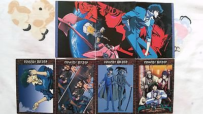 Cowboy Bebop TV series dvd anime TRADING CARDS lot of 36 VERY RARE!!