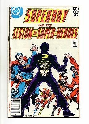 Superboy and the Legion of Super-Heroes Vol 1 No 239 May 1978 (VFN+) Jim Starlin