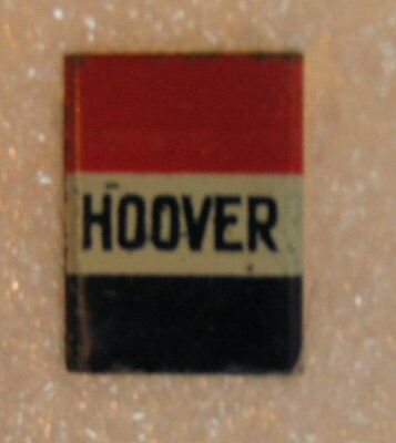 Vintage President Hoover metal clip on tie clasp Election  Candidate Pin