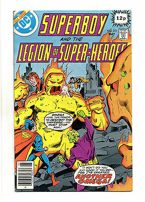 Superboy and the Legion of Super-Heroes Vol 1 No 251 May 1979 (VFN+) Bronze Age