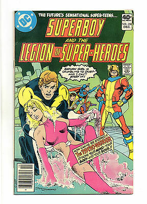 Superboy and the Legion of Super-Heroes Vol 1 No 258 Dec 1979 (VFN+) Bronze Age