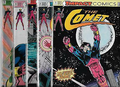 THE COMET LOT OF 10 - #1 #2 #3 #4 #5 #6 #7 #8 #9 #10 (NM-) DC / IMPACT COMICS